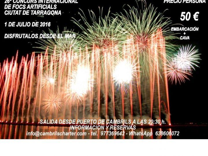 26º CONCURS INTERNACIONAL DE FOCS ARTIFICIALS CIUTAT DE TARRAGONA